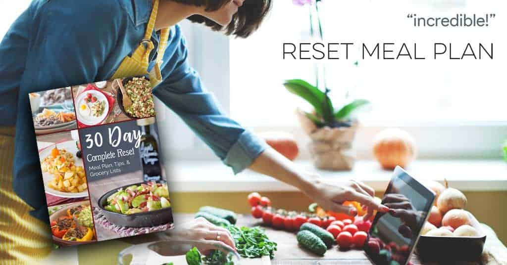 Incredible Reset Meal Plan eBook