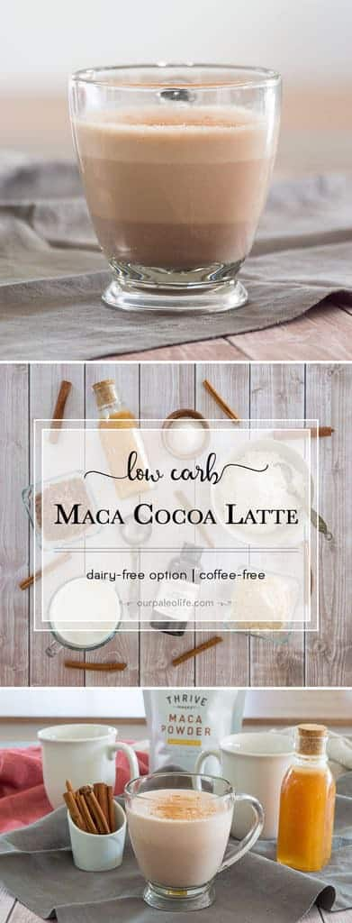This coffee alternative drink is the perfect pick-me-up in the morning and has added hormone regulating benefits. Plus, it's low in carbs and high in healthy fats thanks to MCT oil.