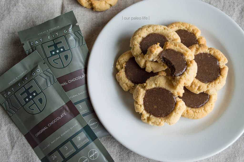 Pre-Workout Power Cookie with Fat Fit Go {grain-free, dairy-free}