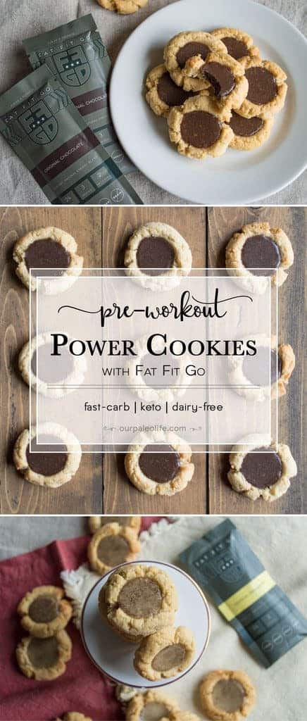 On days where you plan to need explosive power, 20-30 minutes prior to the workout you should consume 5-20 grams of fast acting carbs (not starchy carbs like fruit). These power cookies are perfect for those practicing a targeted ketogenic diet.