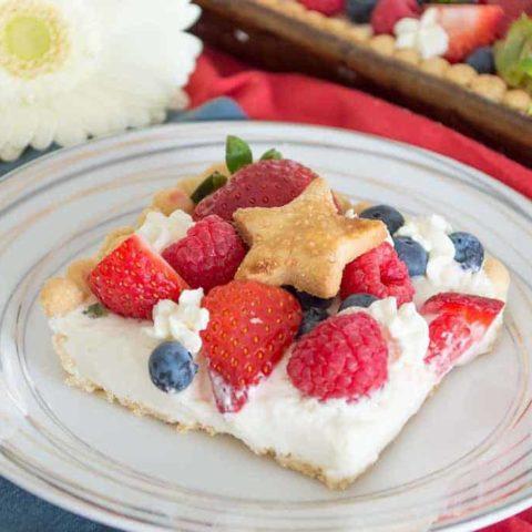 No-Bake Lemon Berry Cheescake {primal, low-carb}