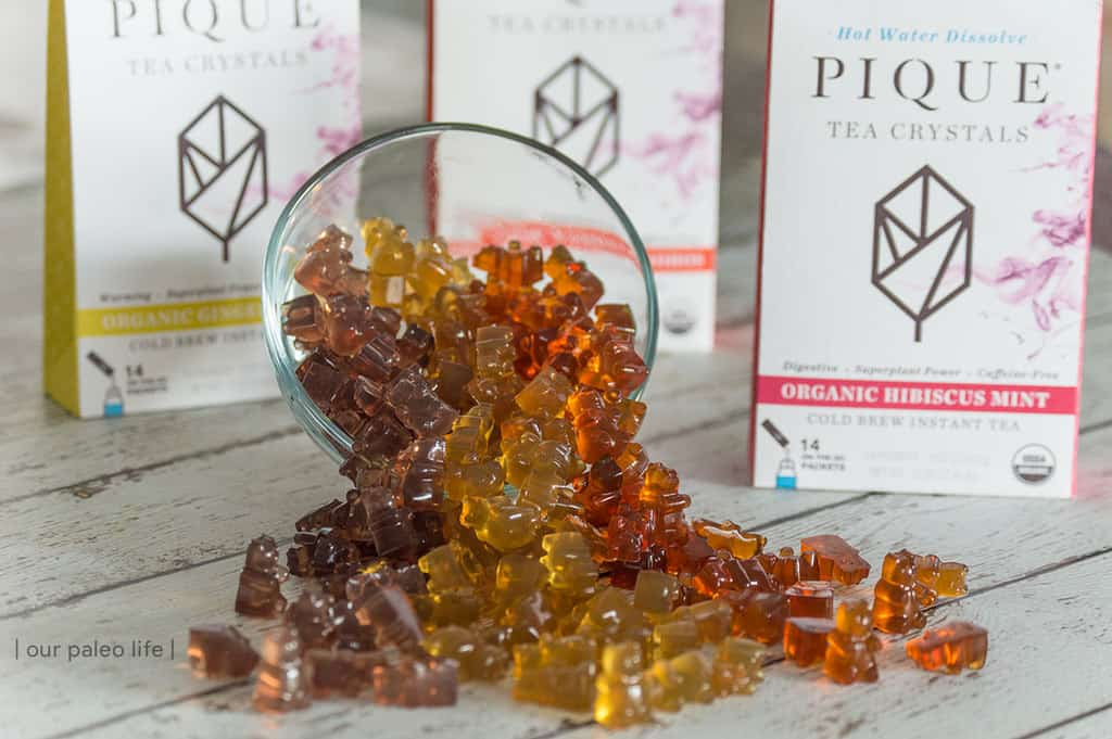 Herbal Tea Gummy Bears