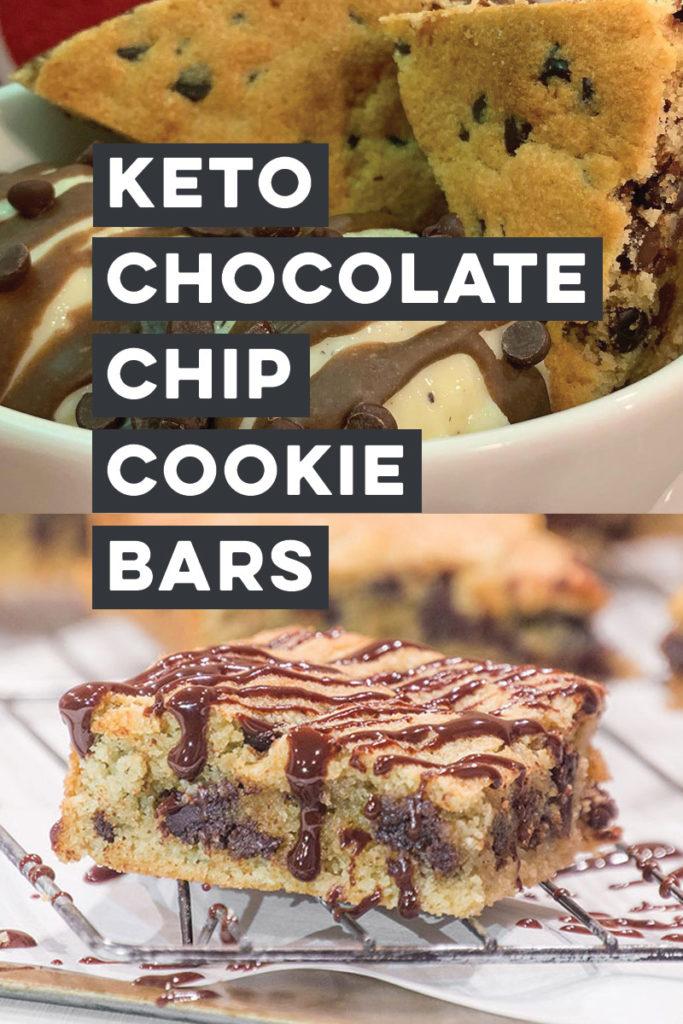 Keto Chocolate Chip Cookie Bars