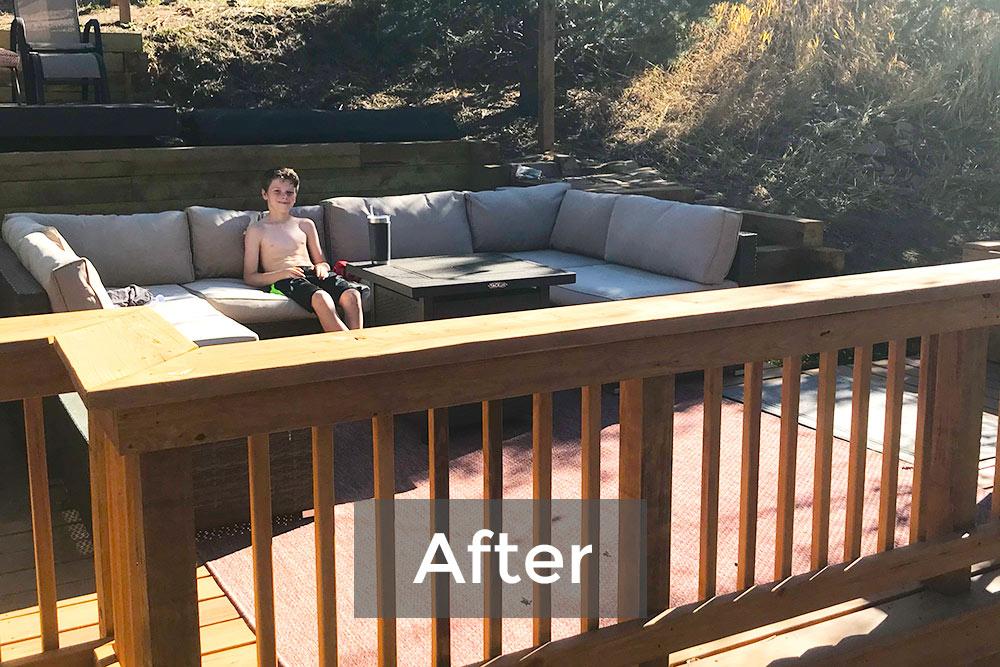 Deck Build After
