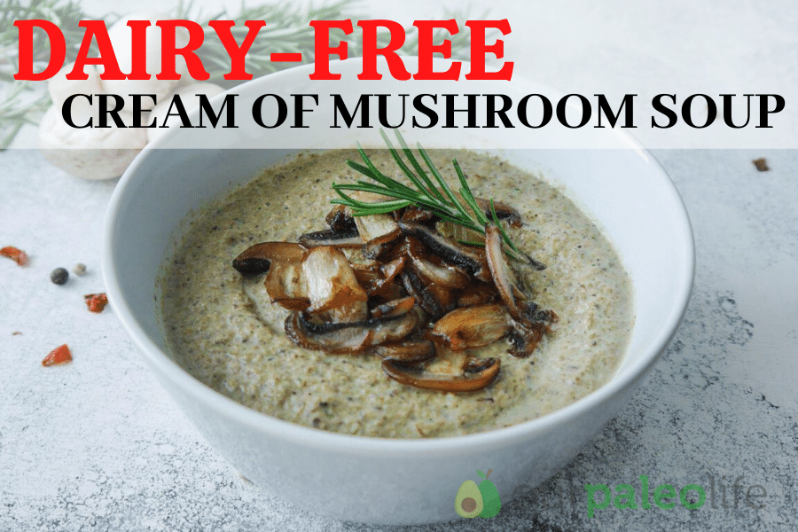 Our Paleo Life Dairy-Free Cream of Mushroom Soup