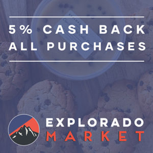 Explorado Market Cash Back