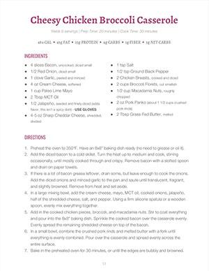 Keto Plan PDF