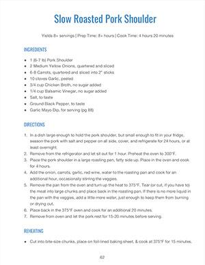 Whole30 Meal Plan PDF