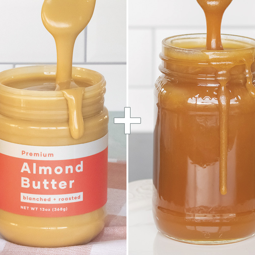 Keto Salted Caramel Almond Butter