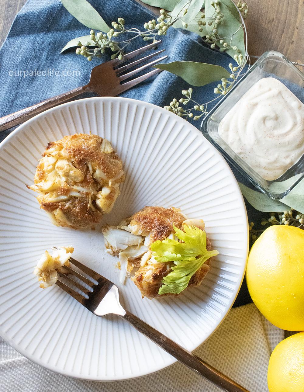 Keto Lump Crab Cake Recipe