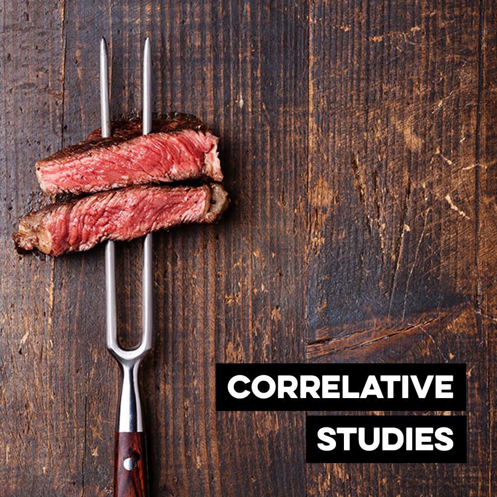 Correlation Meat Study