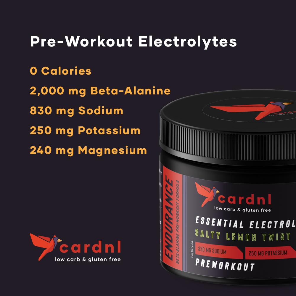 Endurance Pre-Workout Electrolytes
