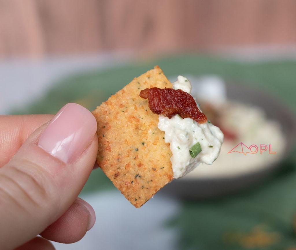 Crunchy Keto Crackers