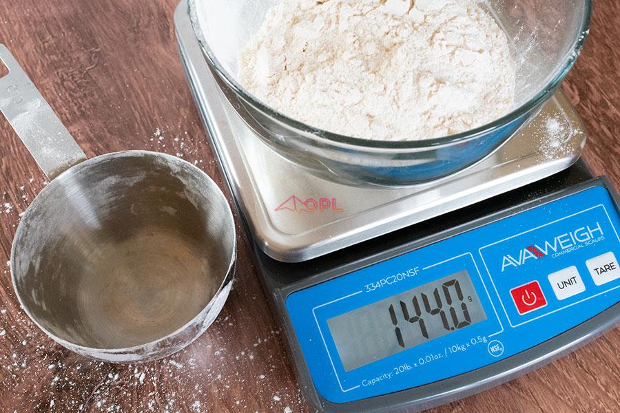 Cassava Flour Weight