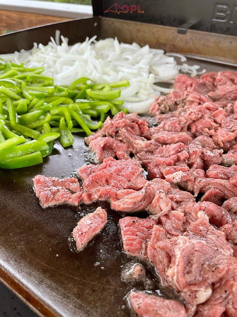 Blackstone Griddle Cheesesteak Recipe