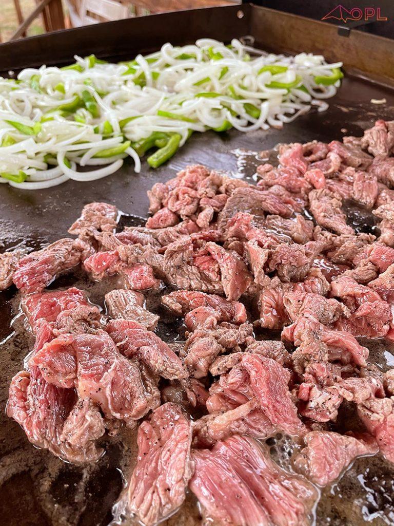 Marinate Cheesesteak Meat