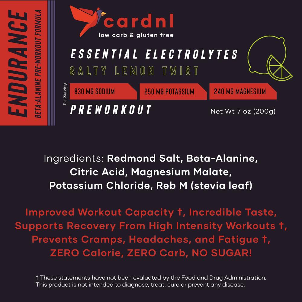 Endurance Electrolytes