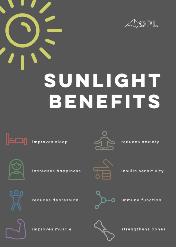 Benefits of Sunlight & 8 Positive Health Outcomes of Sunlight Exposure