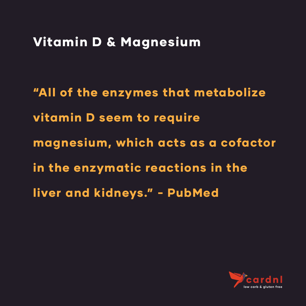 Vitamin D and Magnesium