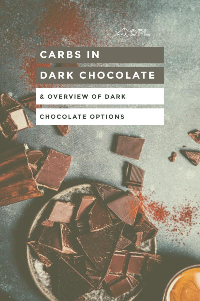 Carbs in Dark Chocolate