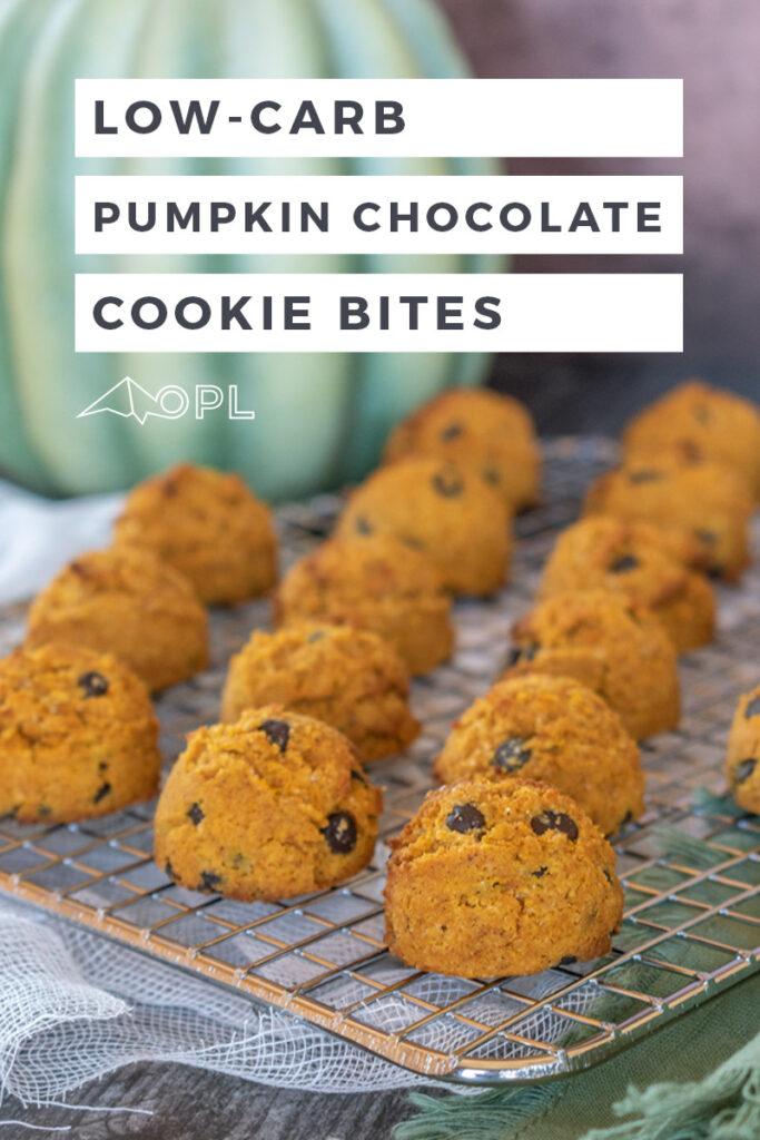 Pumpkin Chocolate Chip Cookie Bites